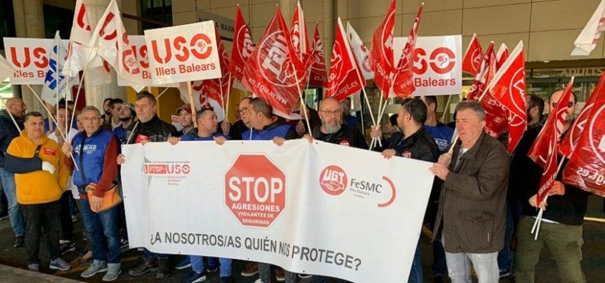 USO-Illes Balears denuncia la agresión a un vigilante de seguridad en el Hospital Son Espases