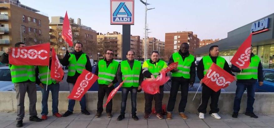 FI-USOC secunda masivamente la primera huelga general en los polígonos industriales de Tarragona