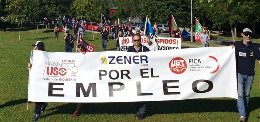 USO en la empresa asturiana Zener anuncia problemas de personal tras aplicarse el ERE
