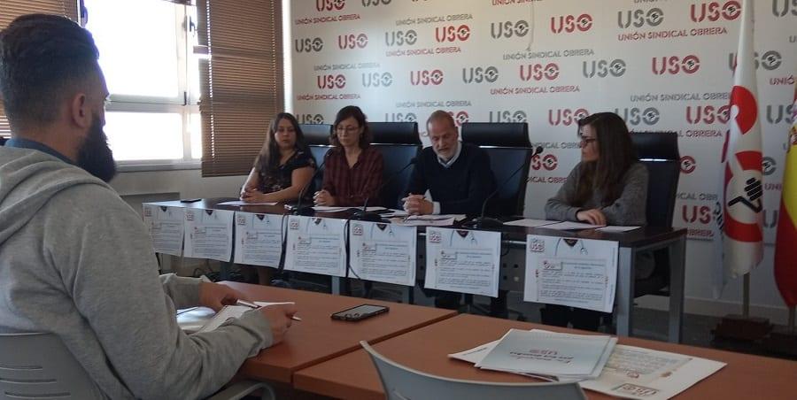 USO denuncia que aún no se aplican protocolos de prevención para los aviones procedentes de Italia