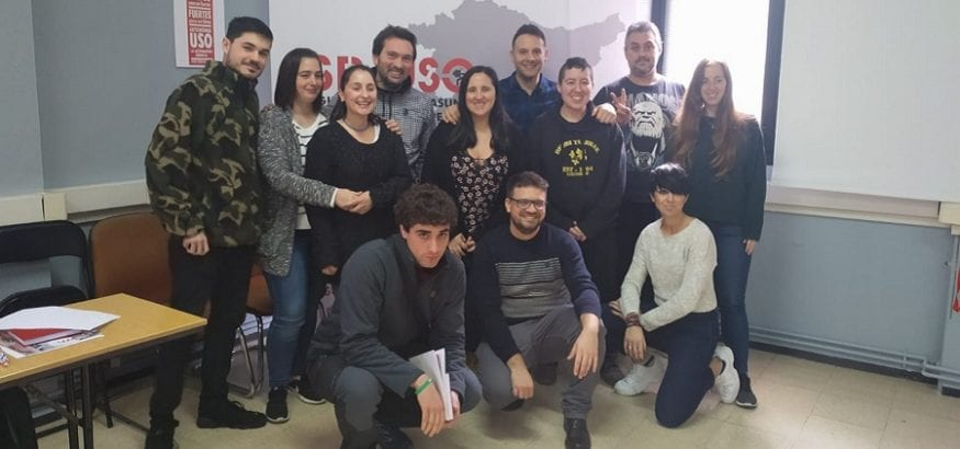 LSB-USO Euskadi celebra su III Jornada de Juventud