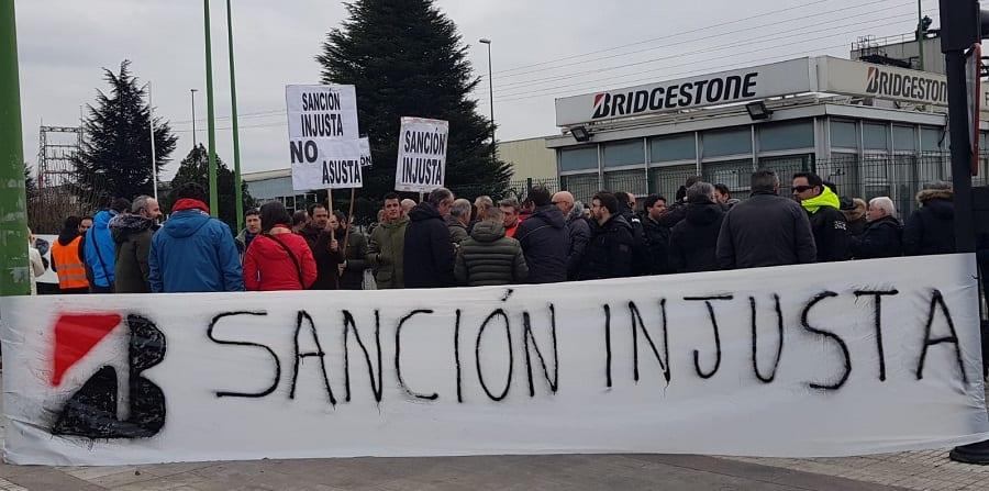Cerca de 800 trabajadores de Bridgestone en Vizcaya y Cantabria, afectados por los paros de producción