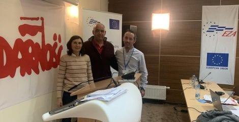 USO ha participado en el seminario EZA sobre trastornos musculoesqueléticos en el trabajo