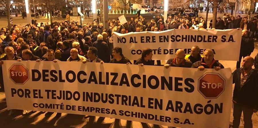 Los trabajadores de Schindler ratifican preacuerdo para mejores condiciones de salida y menos despidos
