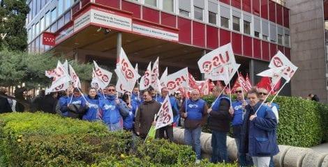 FTPS-USO pide una solución para los vigilantes de Ombuds en EMT y Metro de Madrid