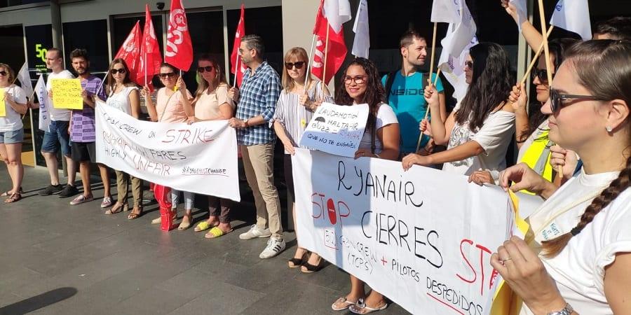 Inspección estima la denuncia de USO y decreta que existe cesión ilegal de Ryanair en Girona