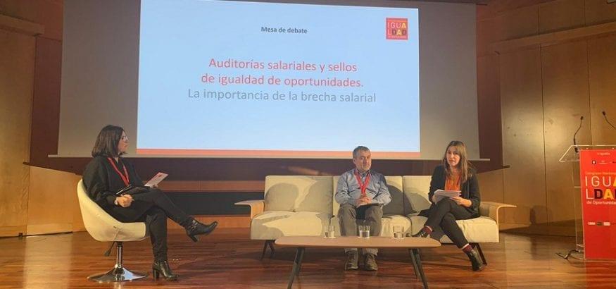 Dulce Moreno reclama implantación real de auditorías de brecha salarial en las empresas