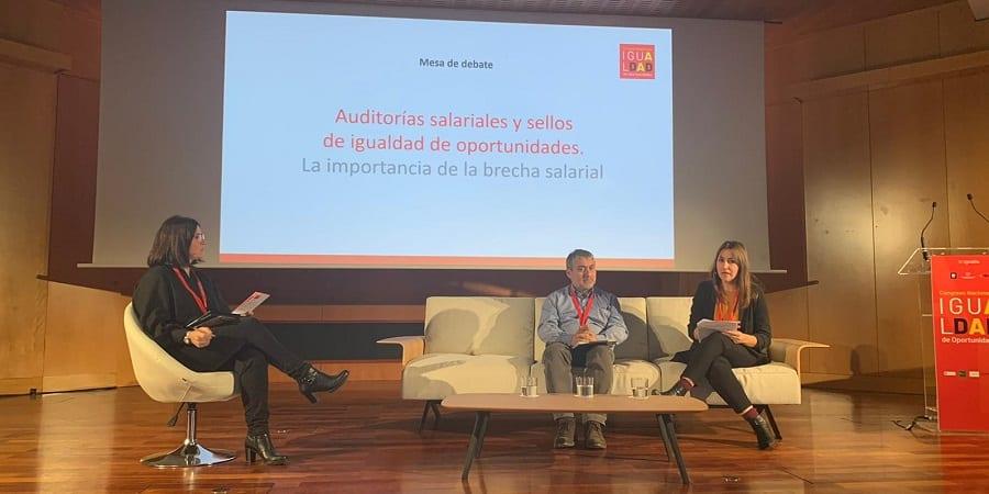 Dulce Moreno reclama la implantación real de las auditorías salariales en las empresas