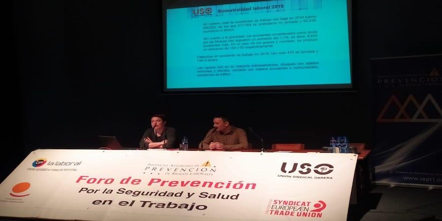 """Los riesgos psicosociales y la violencia en el trabajo, protagonistas del XI foro """"Tú previenes"""""""