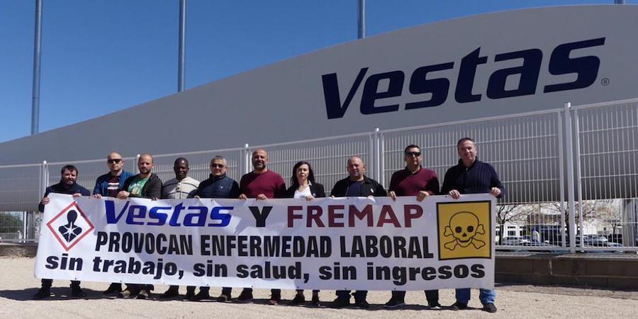 Comienza el juicio por un delito contra la salud de los trabajadores de Vestas