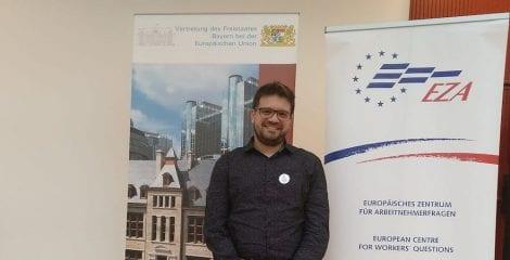 USO participa en el seminario de EZA sobre Diálogo Social Europeo en Bruselas