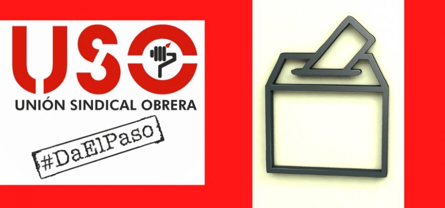 USO y los otros sindicatos informan al Ministerio de la paralización de procesos electorales