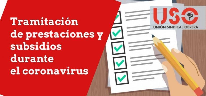 Cómo se tramitan prestaciones y subsidios de desempleo durante la crisis del coronavirus