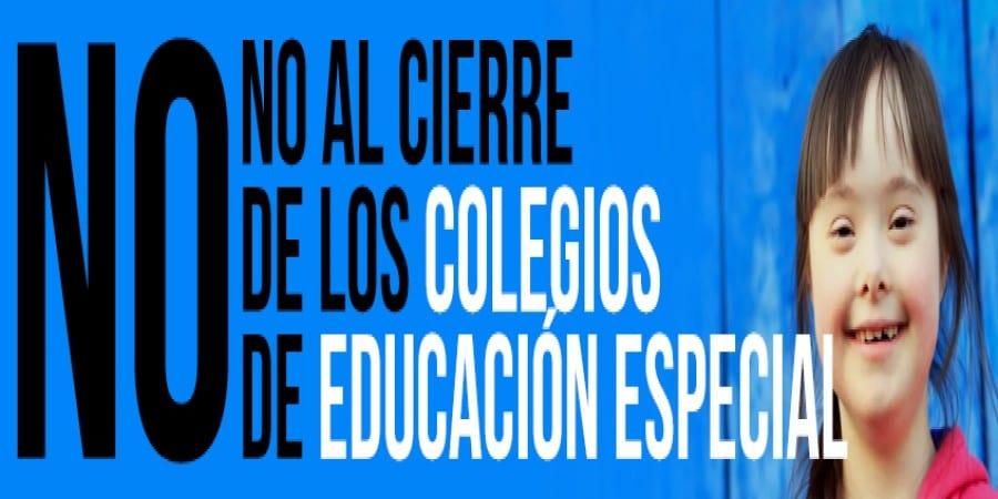 FEUSO, contra el cierre de los centros de Educación Especial