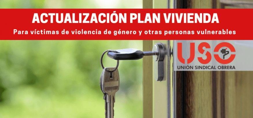 Programa de vivienda para víctimas de violencia de género y otras personas vulnerables