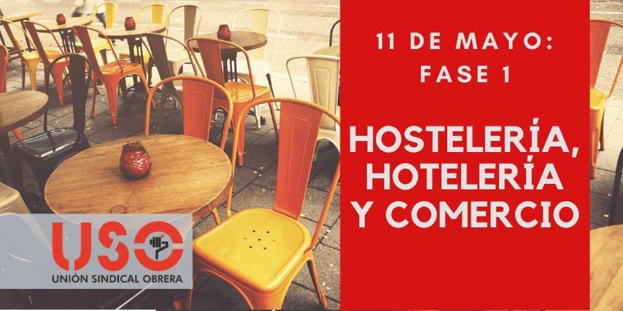 Fase 1 en hostelería, comercio y hoteles: cómo abrir, como trabajar y cómo consumir