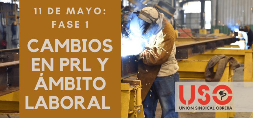 Fase 1 de desescalada: qué se podrá hacer y dónde a partir del 11 de mayo