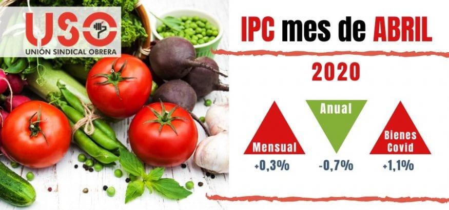 IPC de abril: la alimentación, una especulación durante el confinamiento por el covid-19
