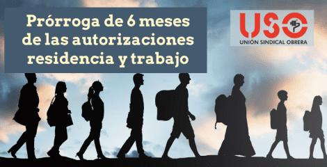 Prorrogadas 6 meses las autorizaciones de residencia y trabajo para inmigrantes