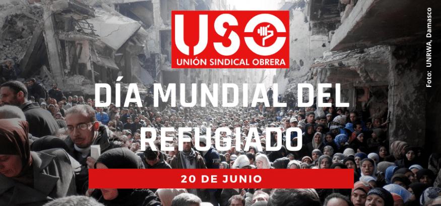 USO se une a la conmemoración del Día Mundial de los Refugiados