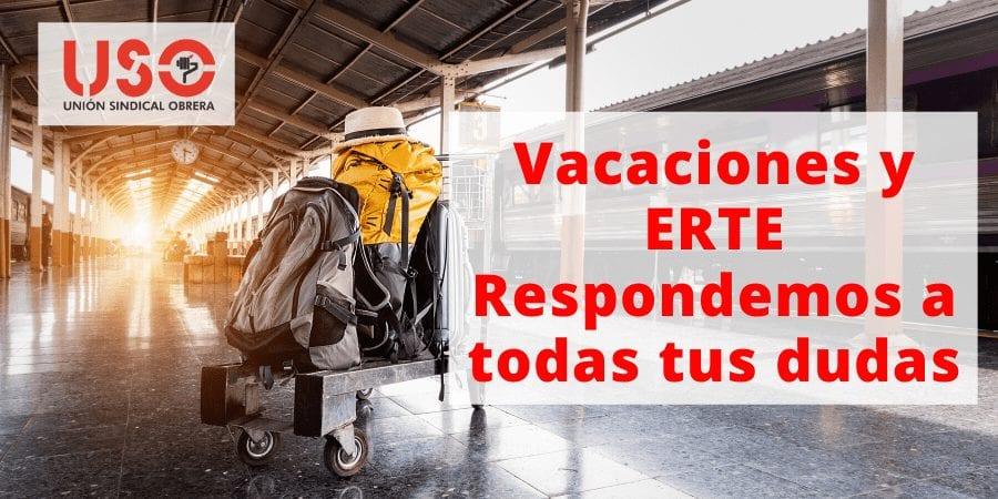 ¿Tengo derecho a vacaciones si estoy en ERTE?