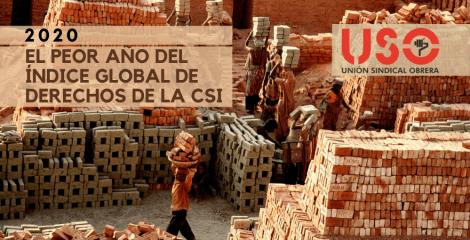 2020: el peor año para los derechos laborales y la libertad sindical en todo el mundo