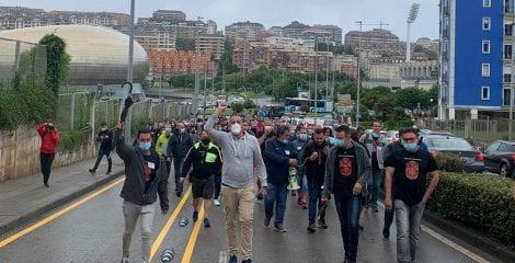 Los trabajadores de Nissan toman Cantabria y llevarán un conflicto industrial global a Madrid