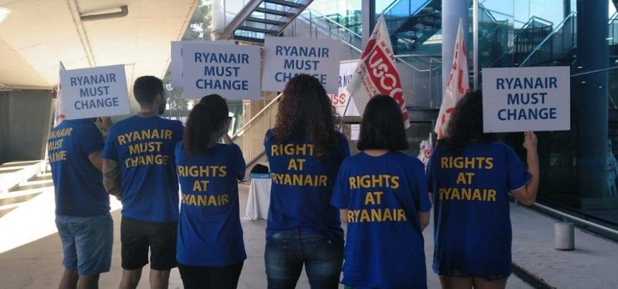 Ryanair: continúa la batalla judicial y el recorte de derechos laborales y salarios