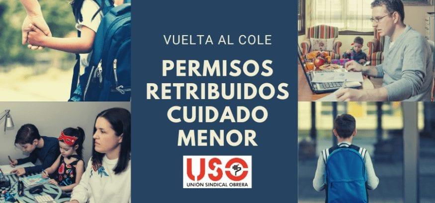 Vuelta al cole: USO reclama permisos retribuidos para cuidado de menor