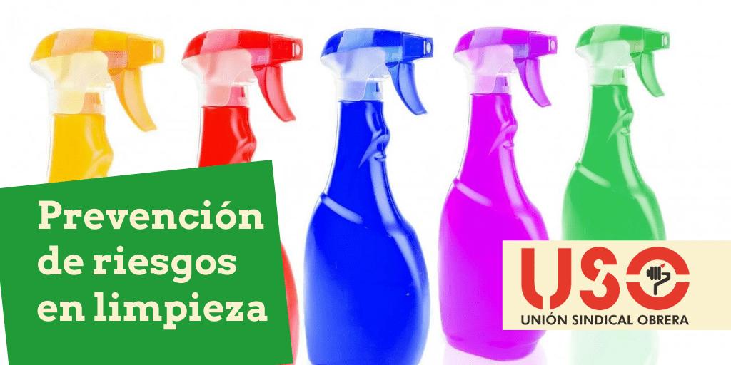 Prevención de riesgos en trabajos de limpieza con productos químicos