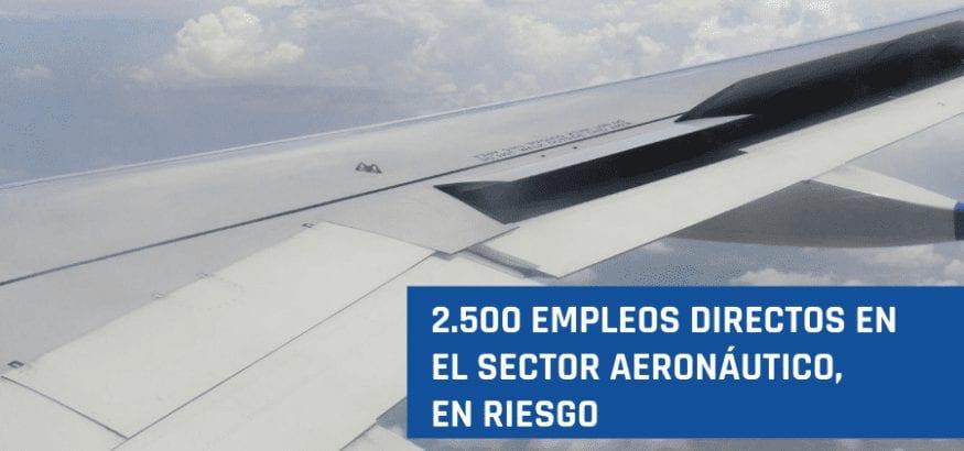 Sector aeronáutico: FI-USO pide soluciones para garantizar la actividad y el empleo