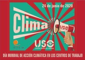 24 de junio. Día de Acción Climática en los centros de trabajo