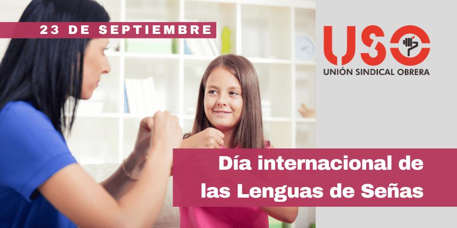 Día Internacional de las Lenguas de Señas