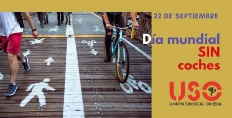 Día sin coches. Movilidad sostenible en el trabajo y en el ocio