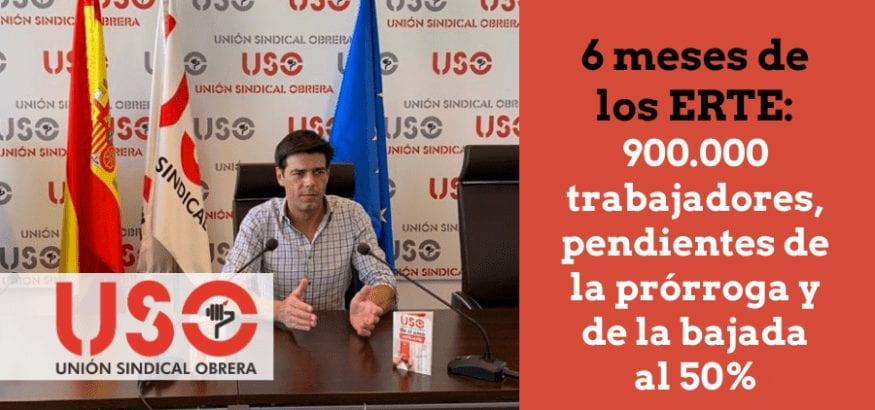 900.000 trabajadores en ERTE, pendientes de bajar al 50% y otra prórroga de última hora