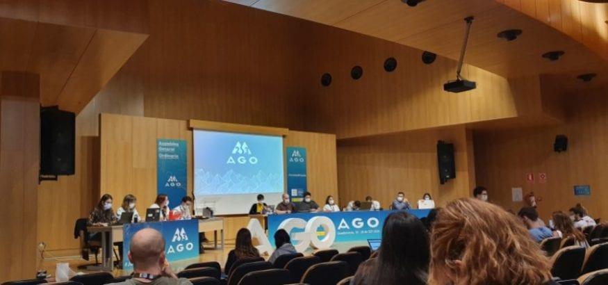 USO, en la 23ª Asamblea General del Consejo de la Juventud