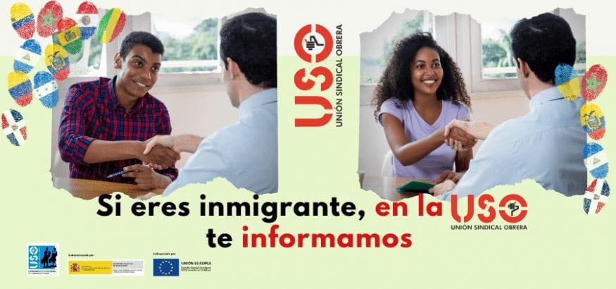 Programa de empleo y asesoramiento a personas inmigrantes de la USO