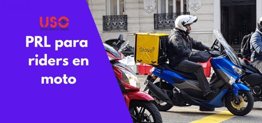 Consejos de prevención para «riders» en moto