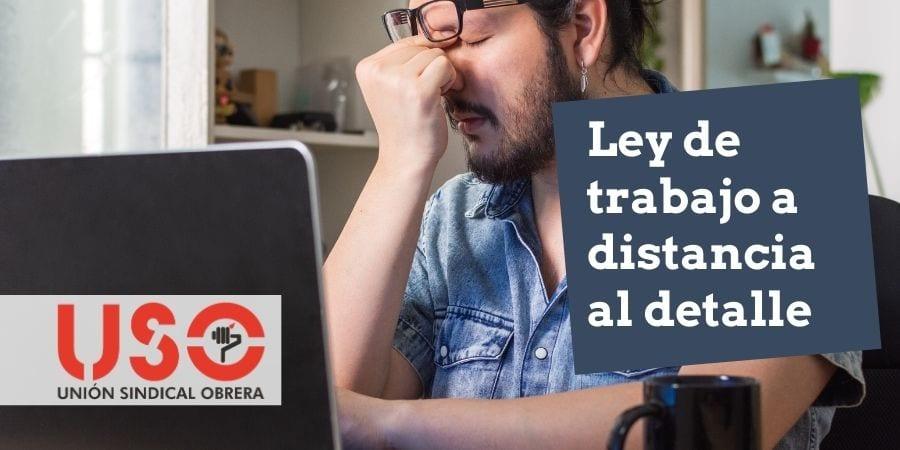 Teletrabajo o trabajo a distancia. Real Decreto-Ley de 22 de septiembre
