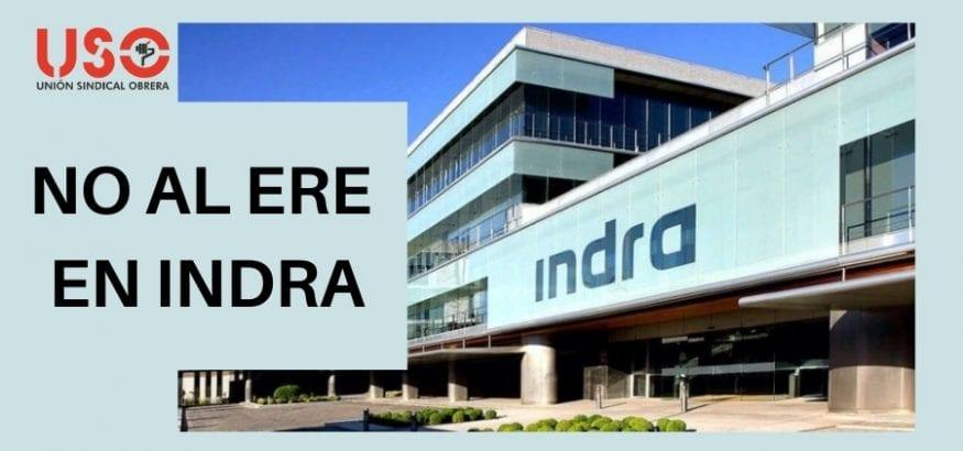 USO rechaza el ERE planteado por Indra para 1.036 trabajadores