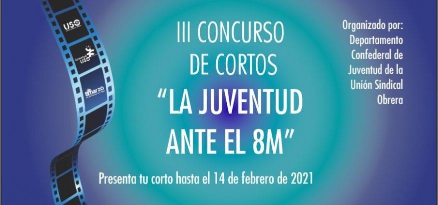 """Nueva edición del III Concurso de Cortos """"La juventud ante el 8M"""""""