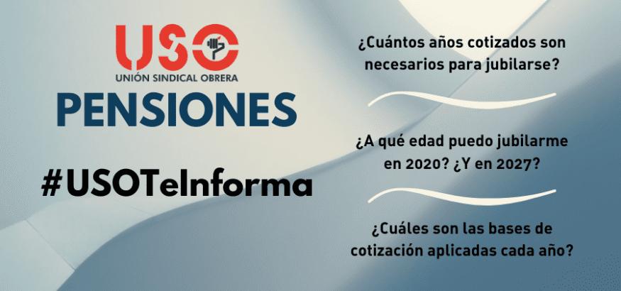 Pensiones: años cotizados para jubilarse y edad de jubilación tras la Reforma