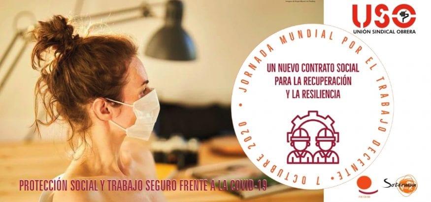 Jornada Mundial por el Trabajo Decente. Nuevo Contrato Social para la recuperación y resiliencia