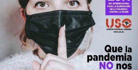 Manifiesto 25N. Que la pandemia no nos silencie