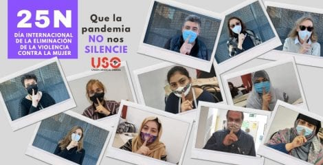 25N Manifiesto. Que la pandemia no nos silencie
