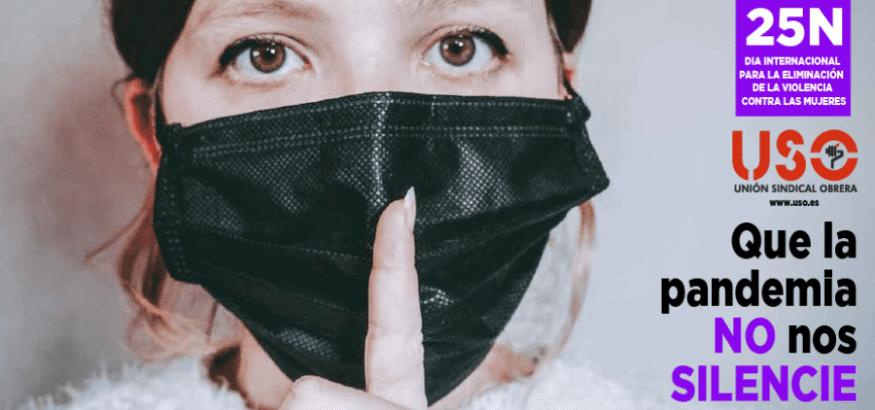 """25N: """"Que la pandemia no nos silencie"""" contra la violencia de género"""