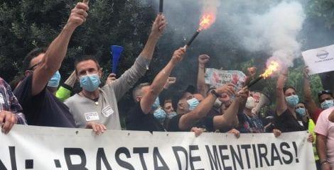 FI-USO defiende la reindustrialización de las plantas de Nissan Barcelona