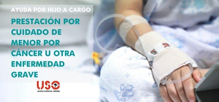 Ayuda por hijo: prestación para cuidado por enfermedad de menor