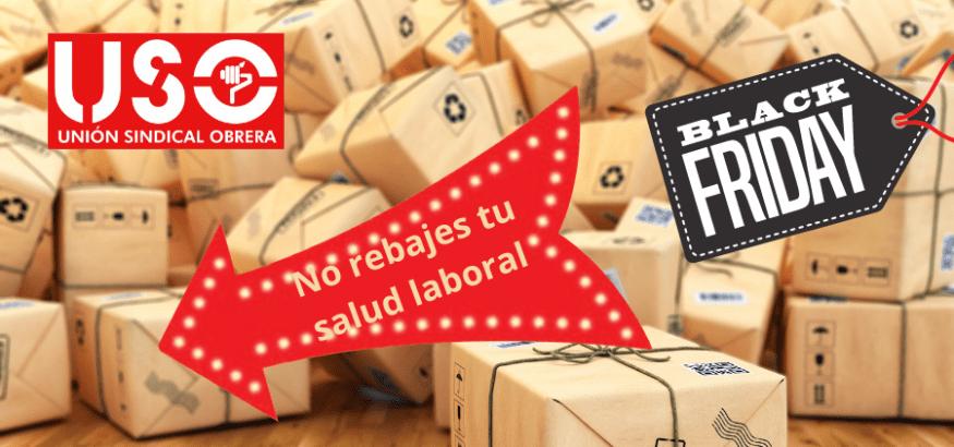 Black Friday: no aceptes rebajas en tu salud en el trabajo