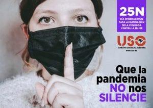 25-N. Que la pandemia no nos silencie